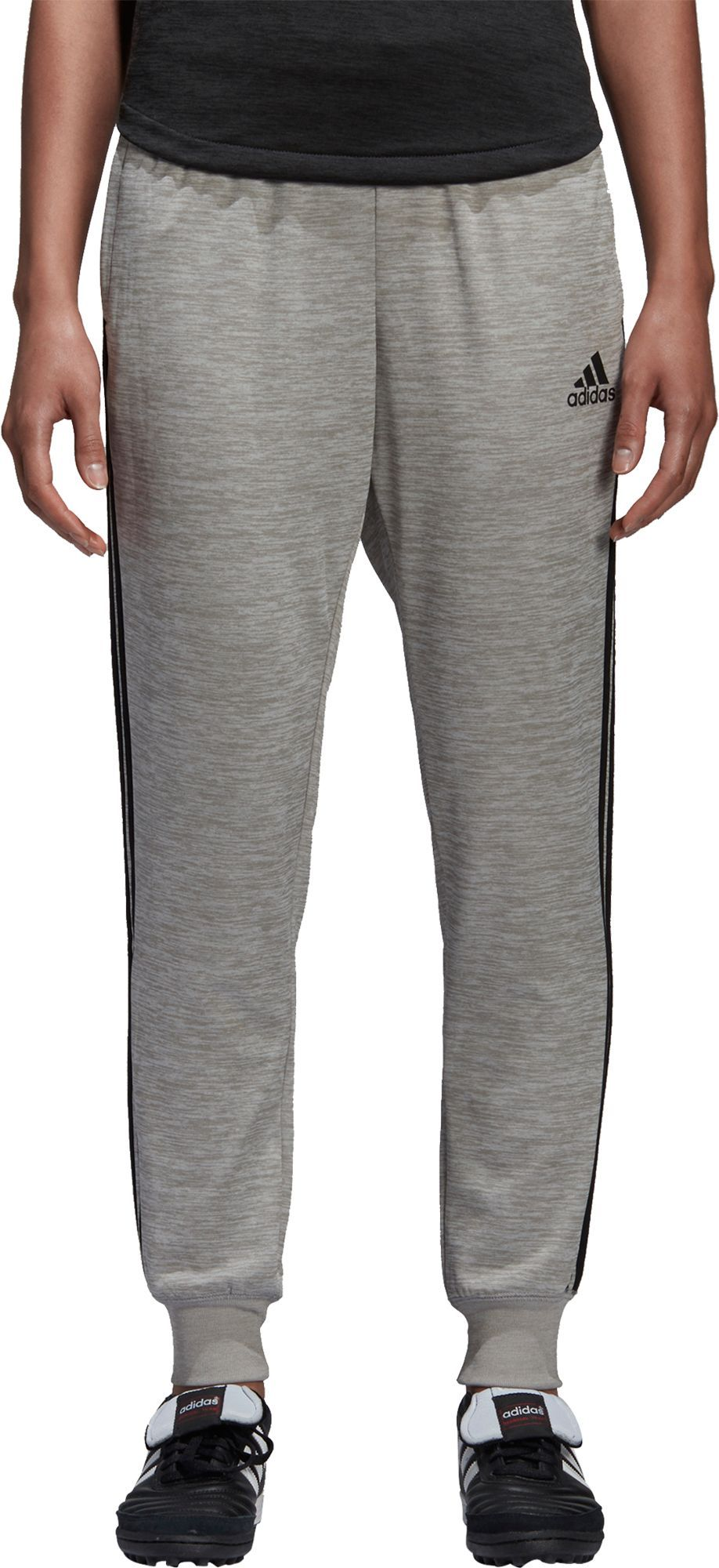 adidas Women's Tango Terry Pants, Gray Adidas women