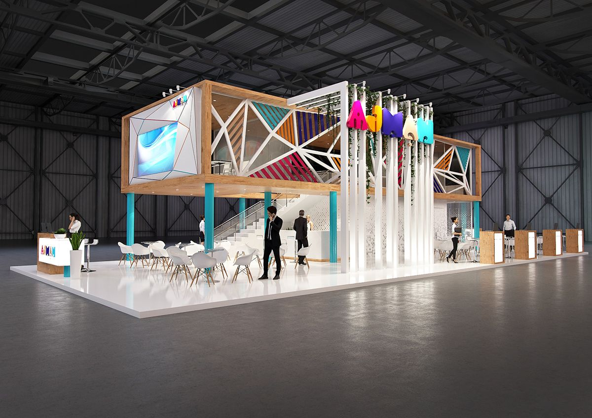Interactive Exhibition Stand : Exhibition stands