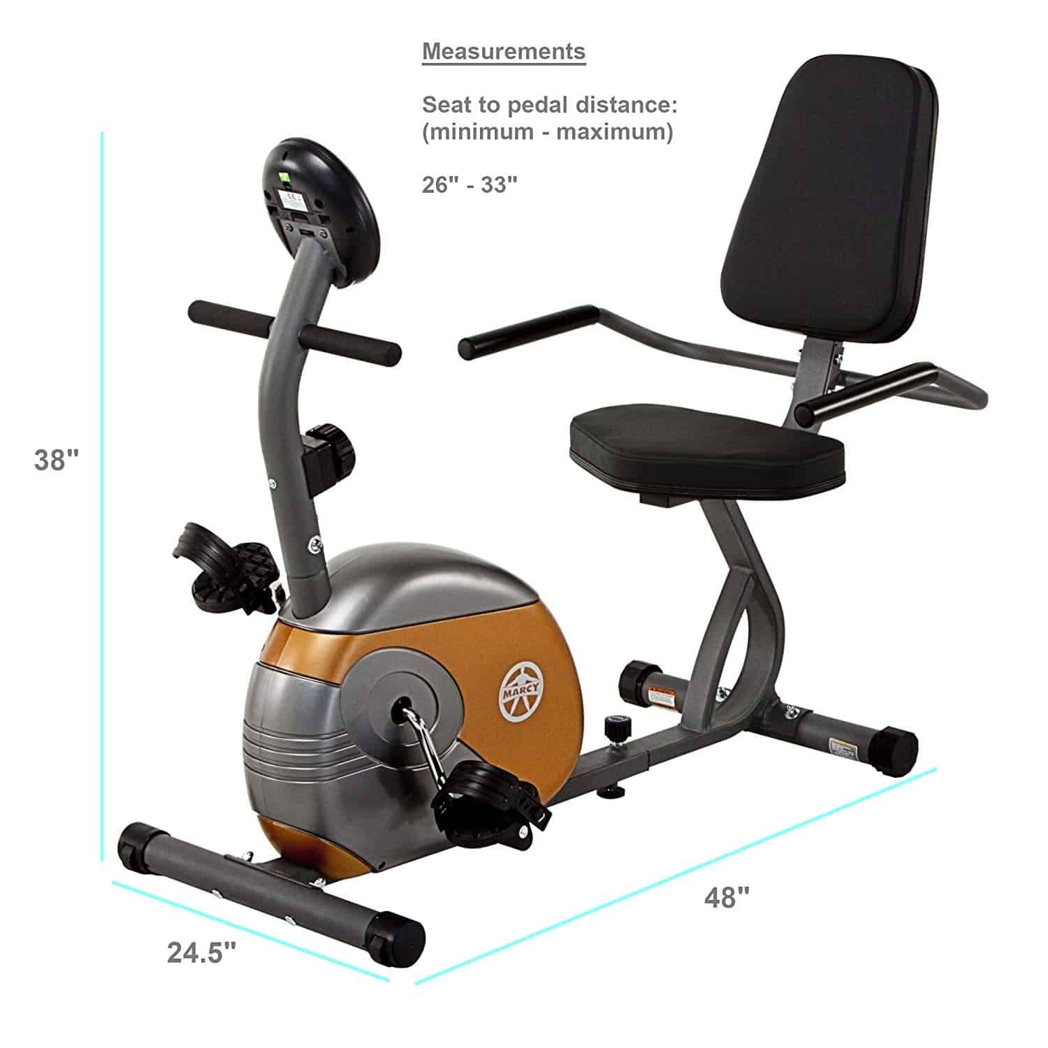 Marcy Recumbent Exercise Bike With Resistance Giveaway Recumbent Bike Workout Best Exercise Bike Exercise Bike Reviews