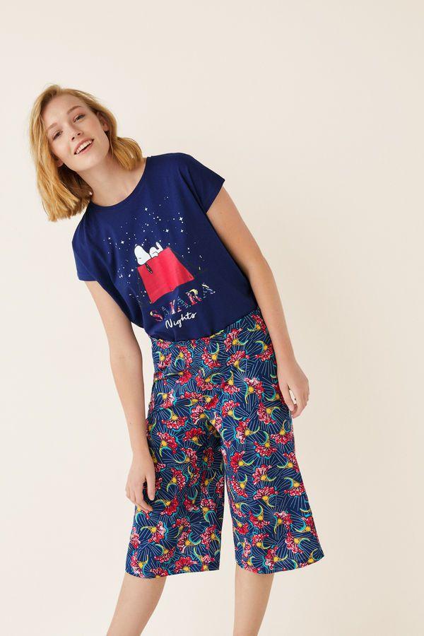 b569304d1 Womensecret Pantalón pijama pirata tribal estampado