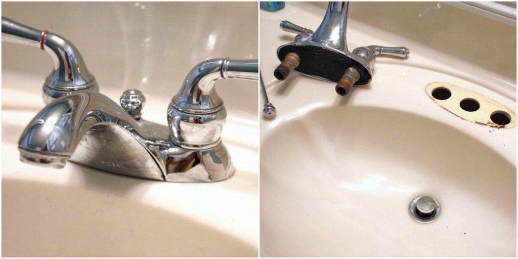 Removing Old Faucet