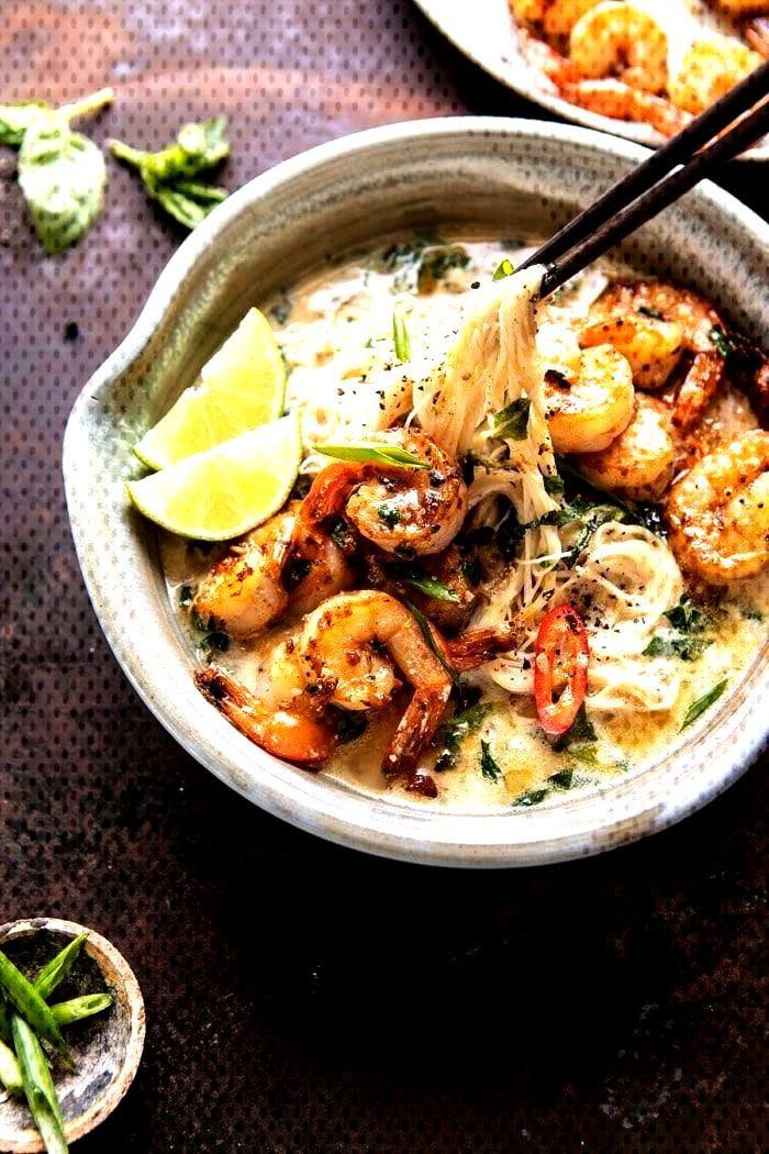 Saucy Garlic Butter Shrim...