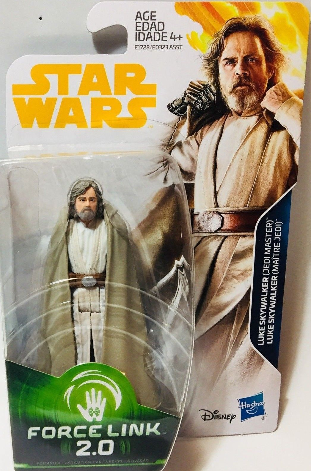 "Star Wars-Le dernier Jedi 3.75/"" figurines avec forcelink activation"