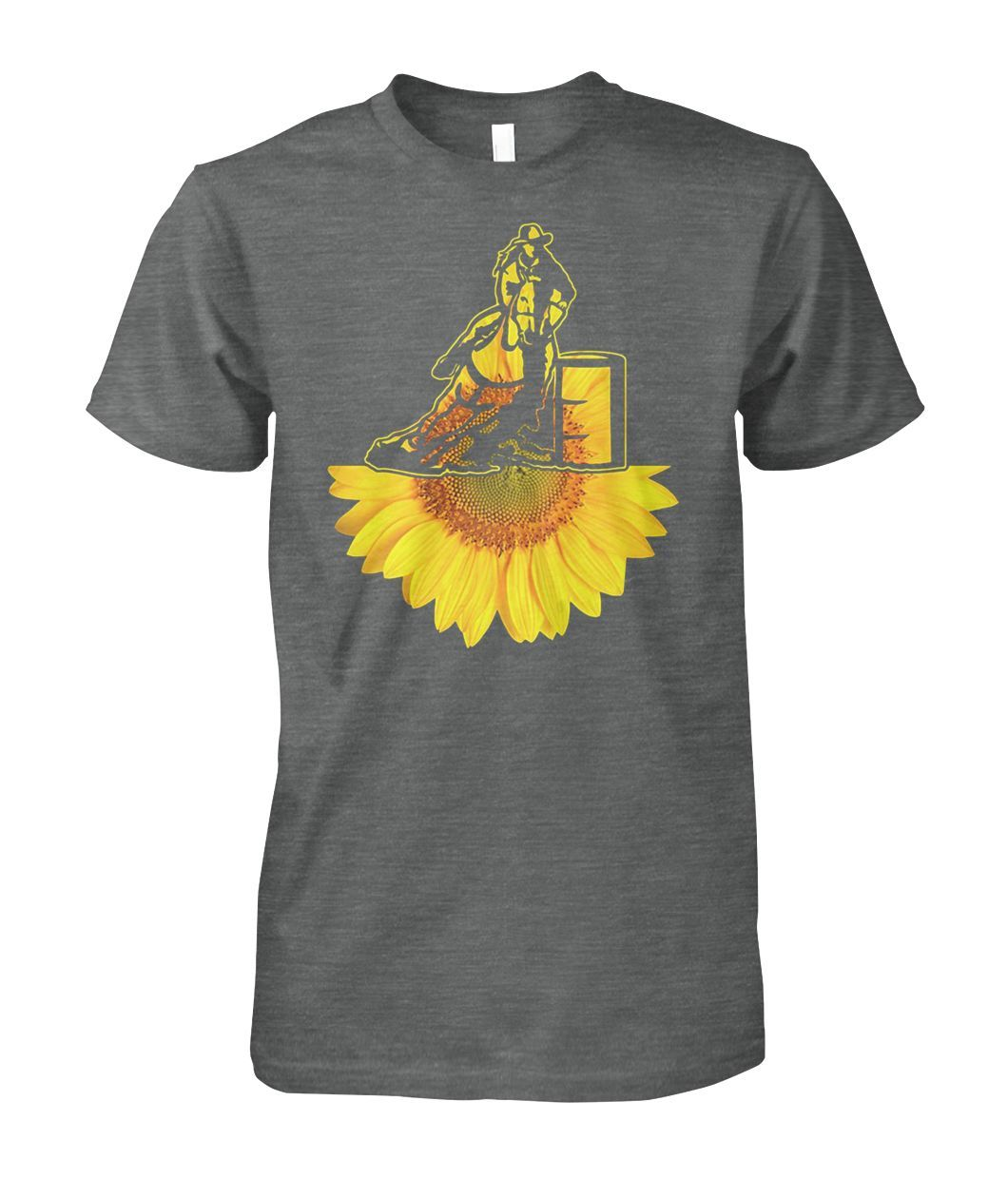 f60d411d Cowboy sunflower Tee Shirt in 2019 | Trending shirt | Sunflower ...