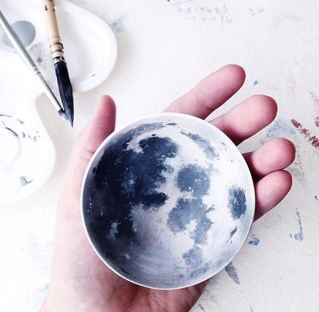 Diy moon bowl