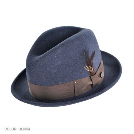 Tino Packable Fedora Hat available at  Brighton  5000d2a4aab