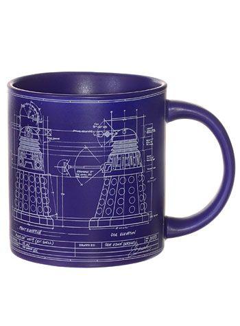 Doctor who dalek blueprint mug at plasticland great gifts doctor who dalek blueprint mug at plasticland malvernweather Choice Image