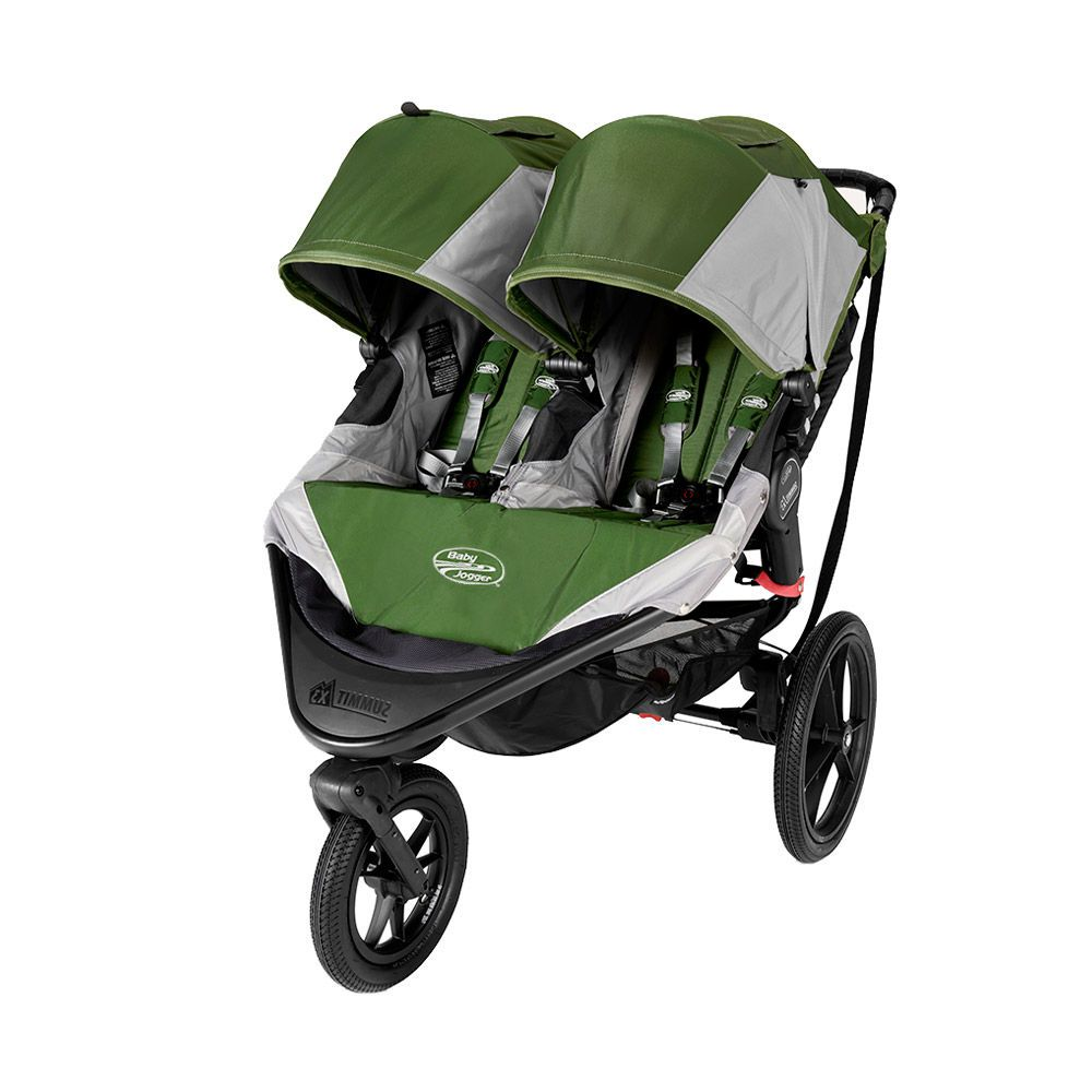 Baby Jogger Summit X3 Double Stroller baby travel twins