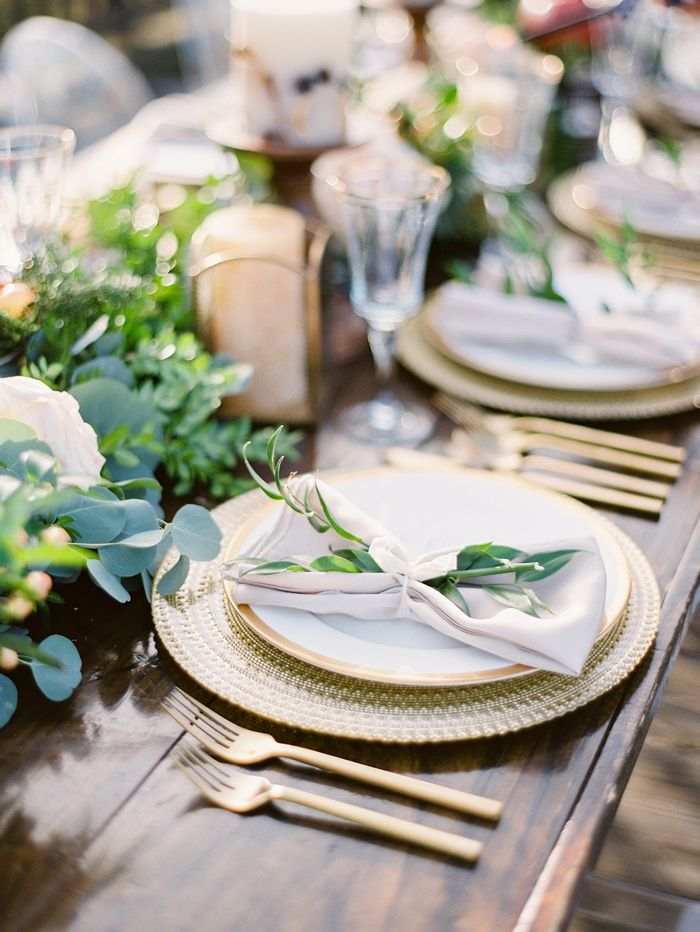 A Gorgeous Charleston Styled Wedding Shoot by Paula Player Photography. See more here... @intimateweddings,com #tablesetting #placesettings