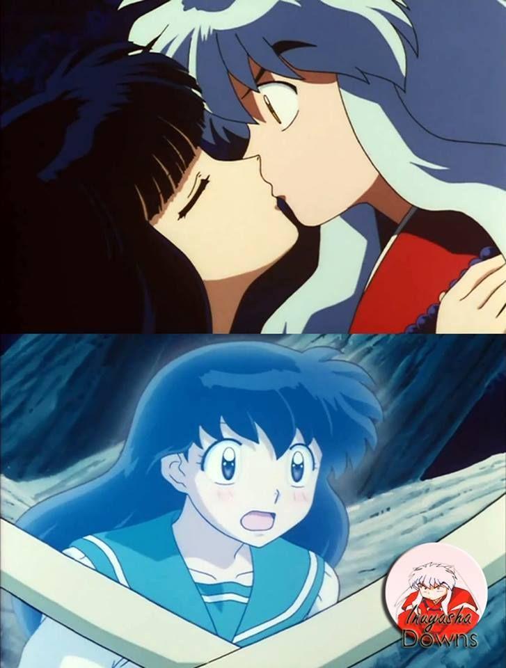 Really Kikyou Making Kagome Watch U Kiss Inuyasha Cold Really