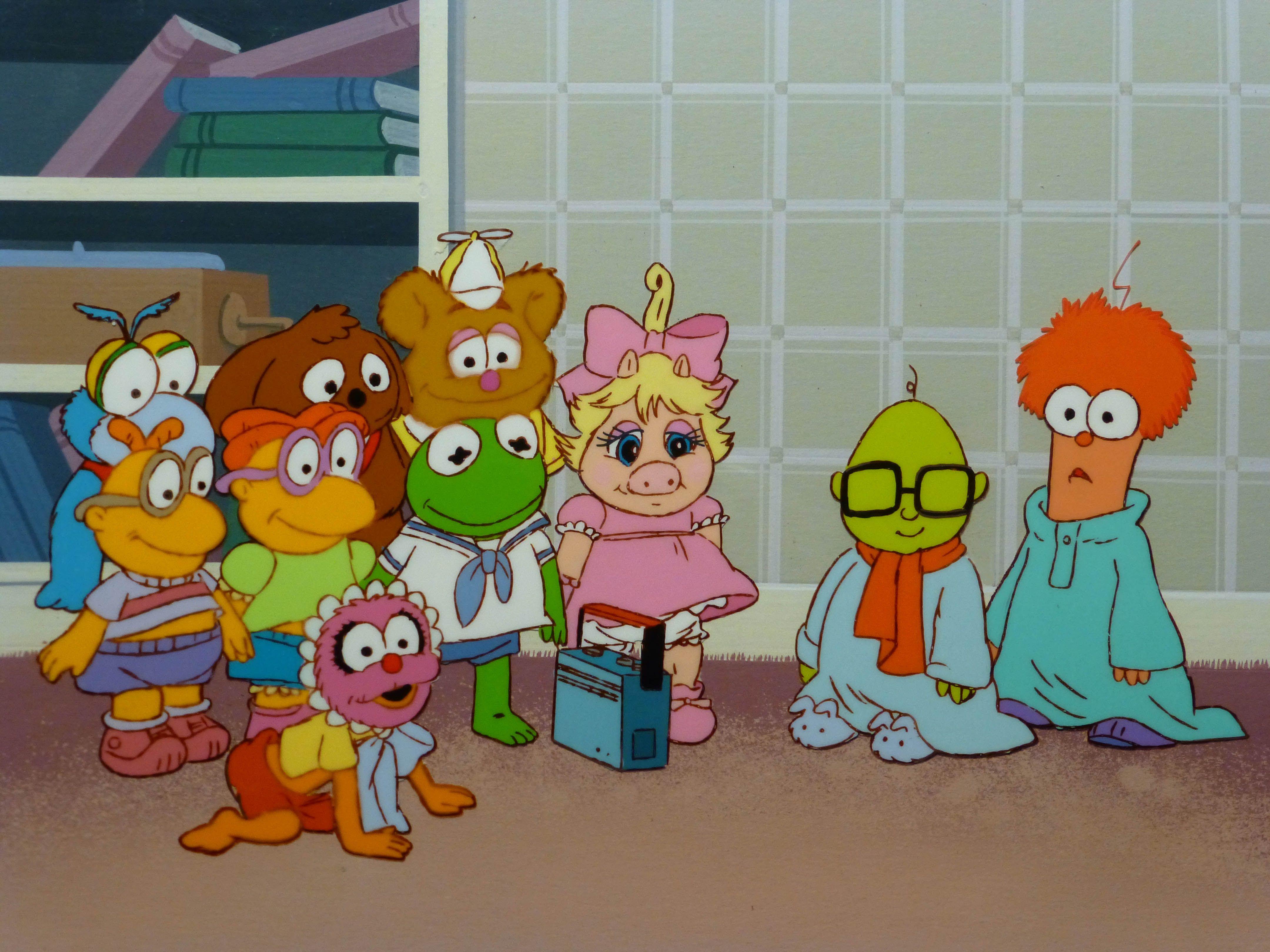 Rare Jim Henson S Muppet Babies Cel Setup From Musical Muppets Muppet Babies Muppets The Muppet Show