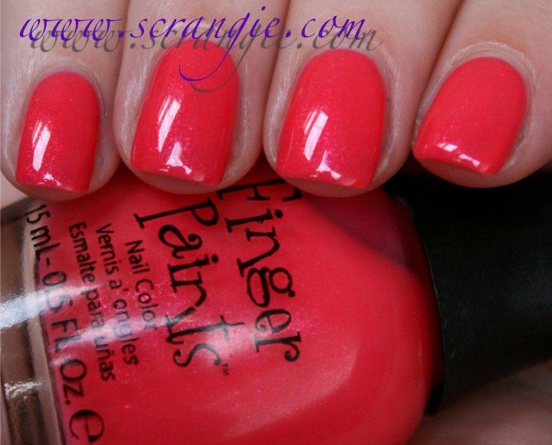 Finger Paints Pop Rock Pink | Beauty | Pinterest | Finger and Swatch