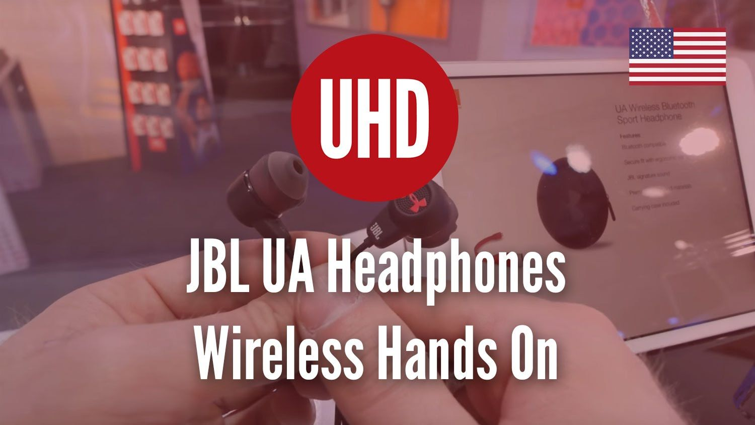 nice JBL UA Headphones Wireless Hands On  Check more at http://gadgetsnetworks.com/jbl-ua-headphones-wireless-hands-on-4k-uhd/