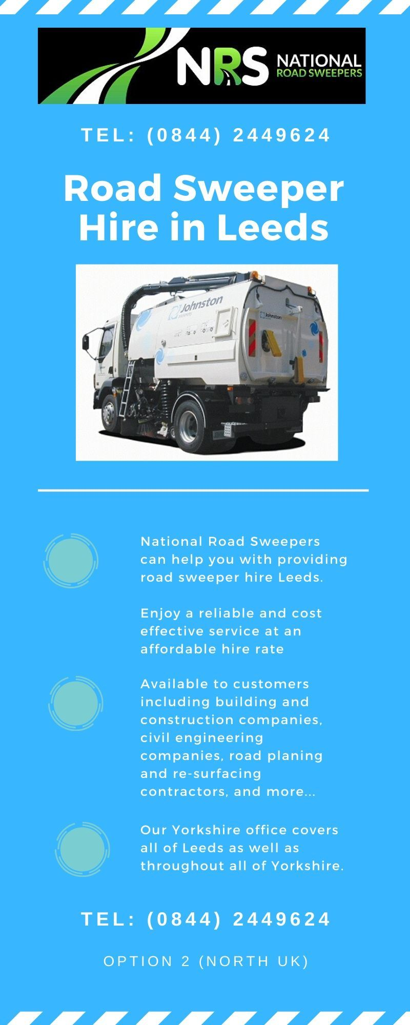 Operated Road Sweeper Hire In Leeds Road Sweeper National Road Barnsley