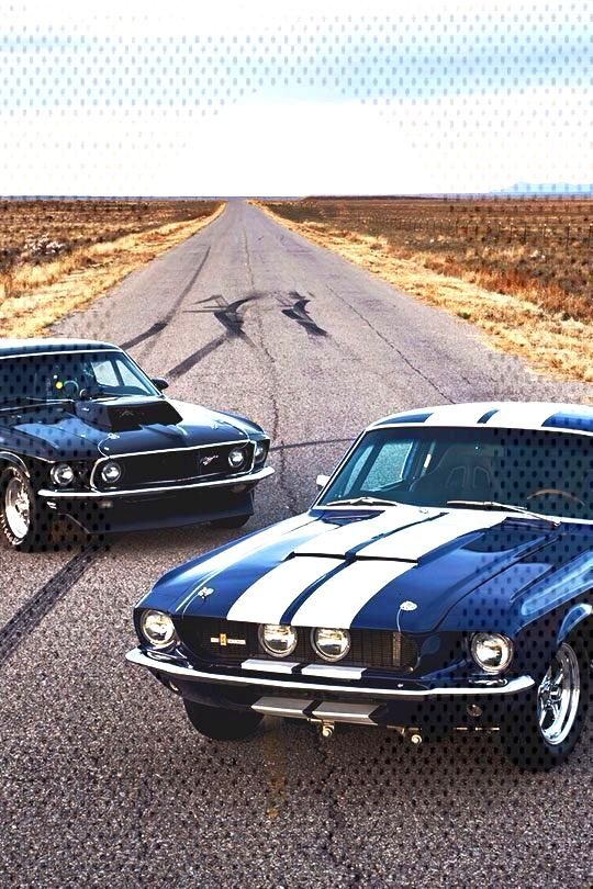 Die heißesten Ford Mustang Muscle Cars: hot-/You can find Muscle and more on our website.