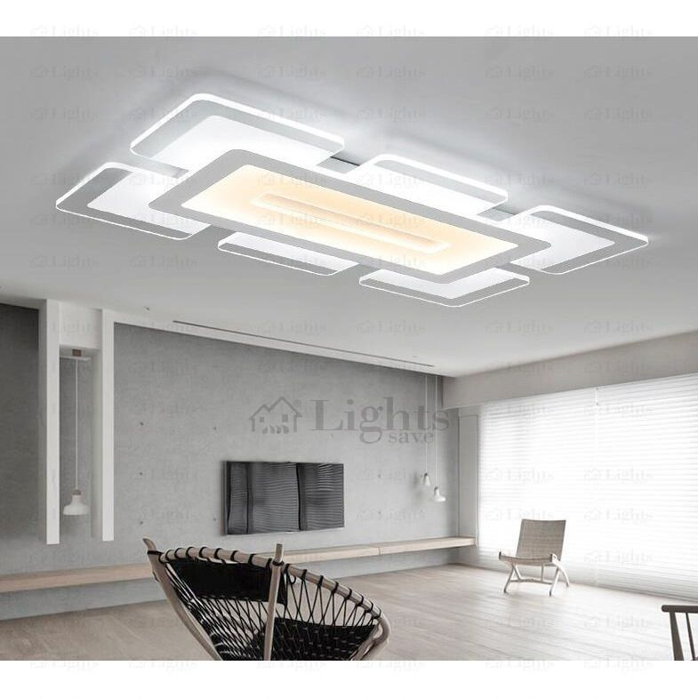 Quality Acrylic Shade Led Kitchen Ceiling Lights In 2019 Modern