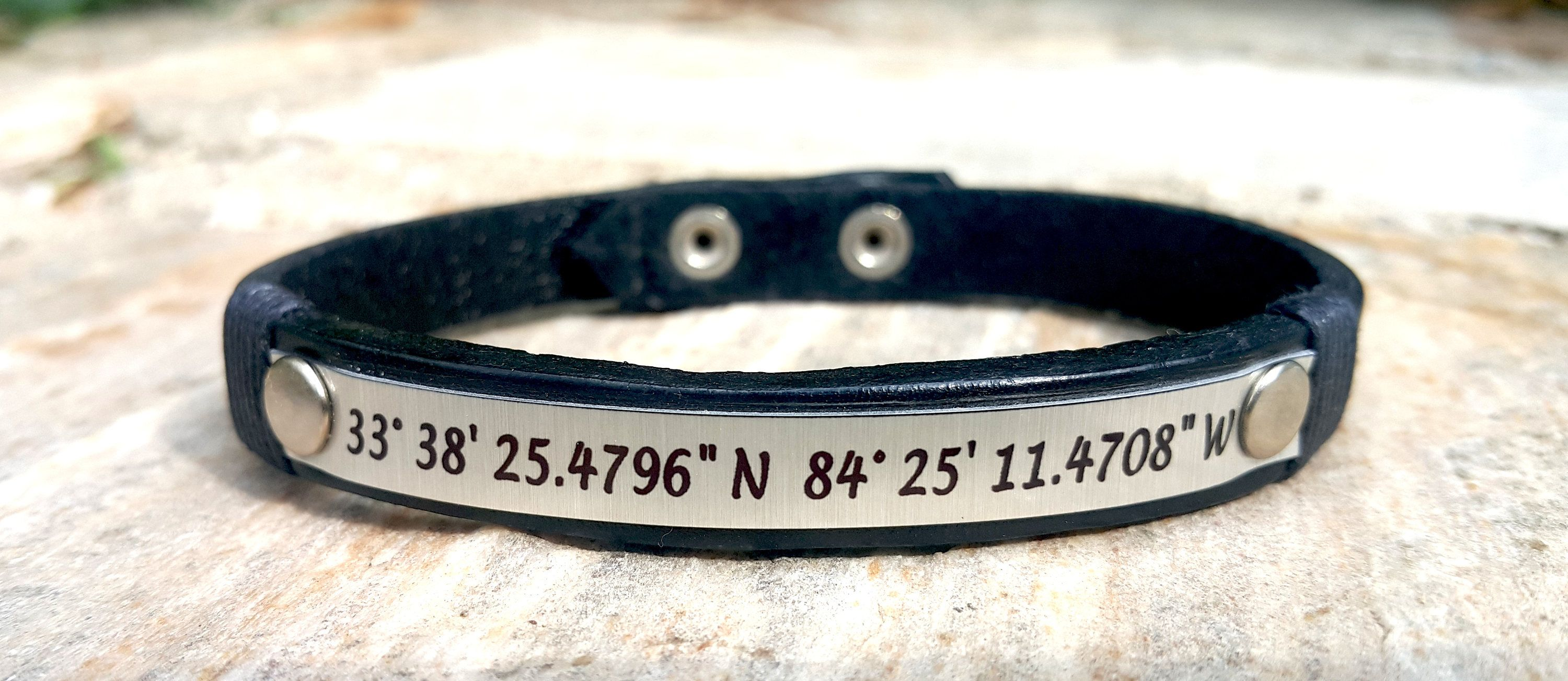 coordinate bracelet leather rawhide custom customs product