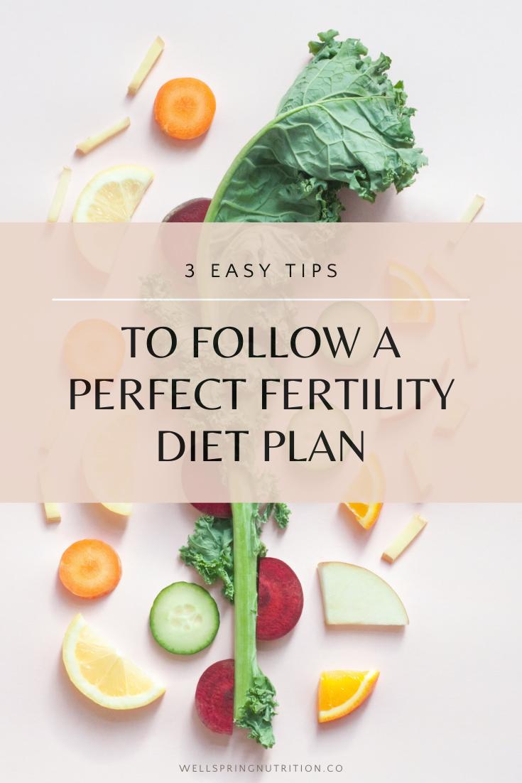 The Perfect Fertility Diet For Women Ttc Wellspring Nutrition Fertility Diet Plan Fertility Nutrition Fertility Diet