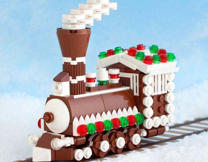 Make your own LEGO Christmas ...