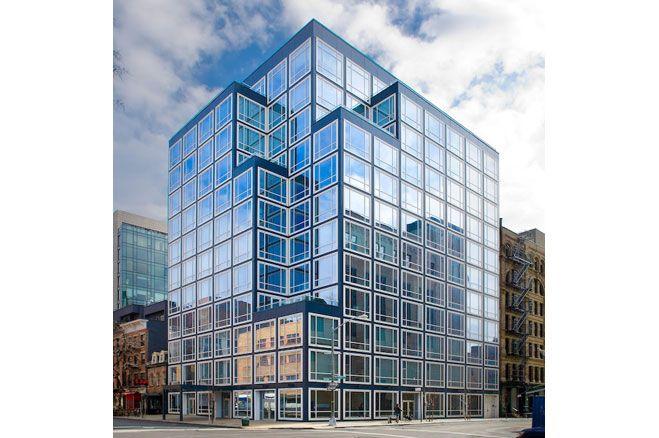 Urban Glass House, Philip Johnson, 2006. | Structure: Modern ...