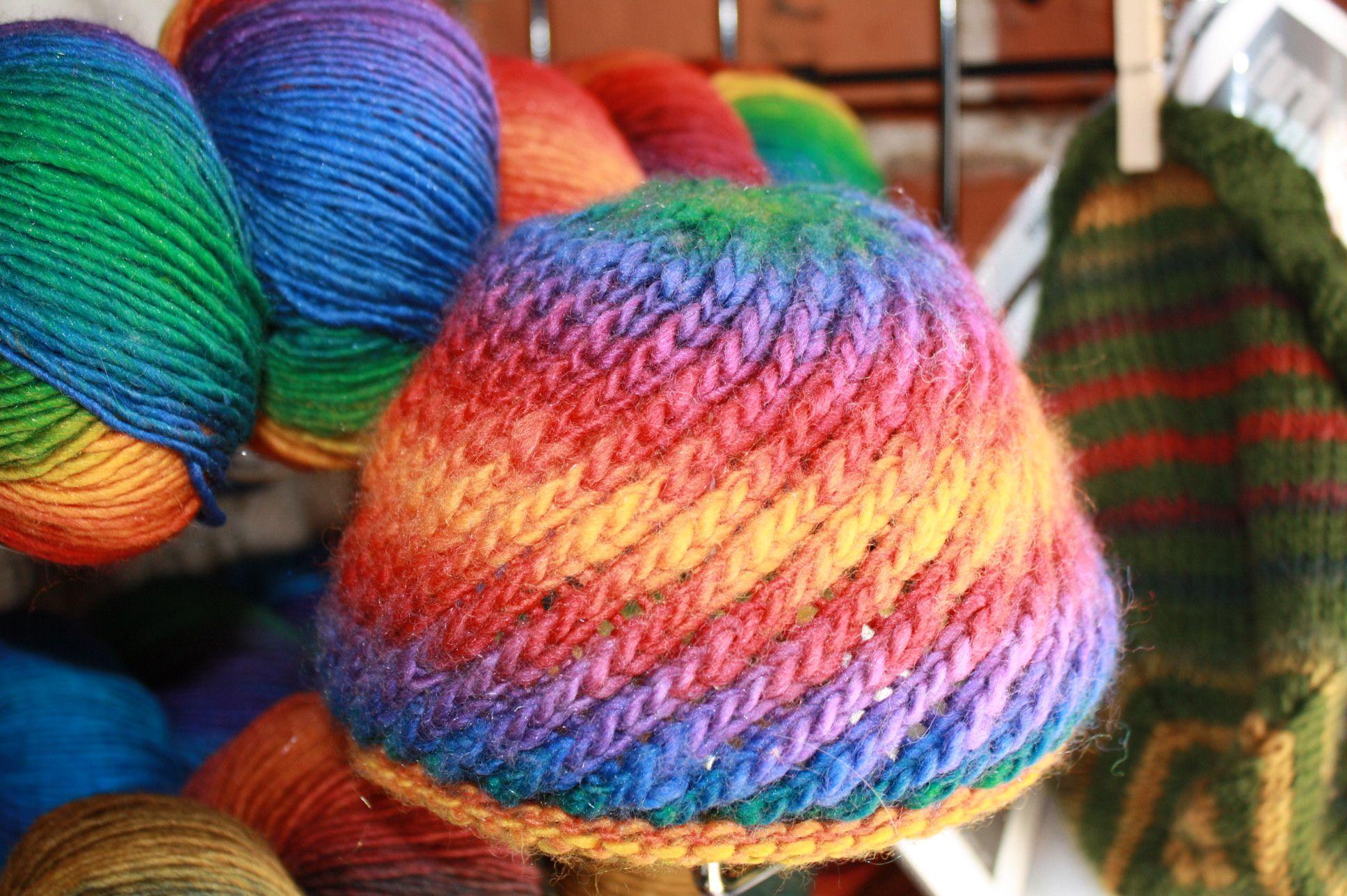Free+Knitting+Patterns+Baby+Hats Spiral Hat Pattern   Darn. Knit. {Anyway} ...
