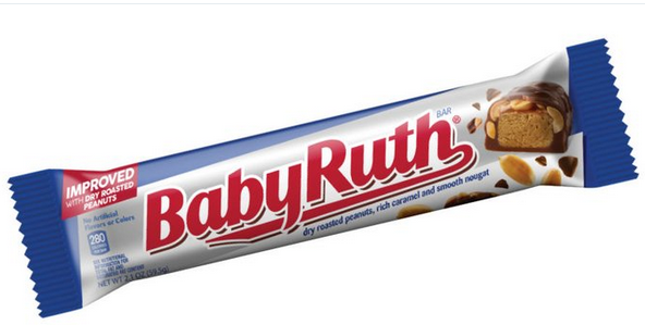 New Improved Baby Ruth Receive 2020 Product Of The Year Award Candy Bar Candy Baby Ruth