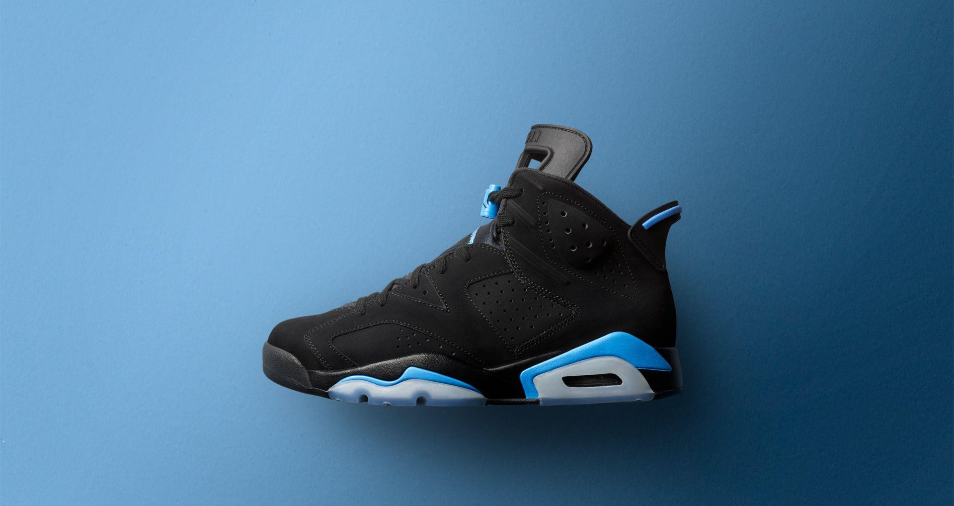 "Retro Nike Blue""Sneaksamp; ""blackuniversity Socks Air Jordan Vi kZiPOXu"