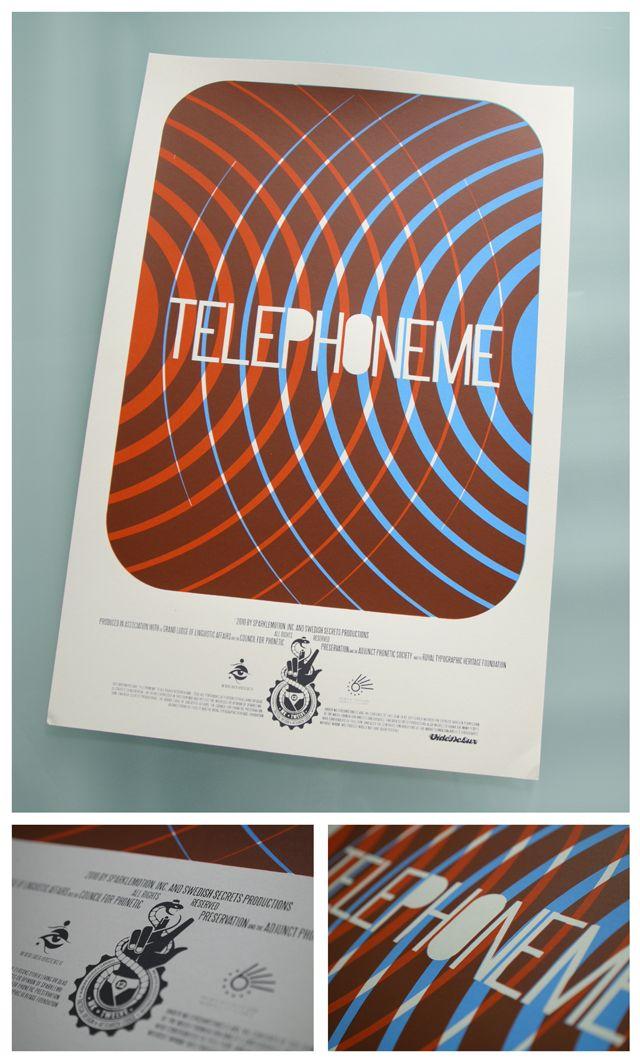 TELEPHONEME - POSTER