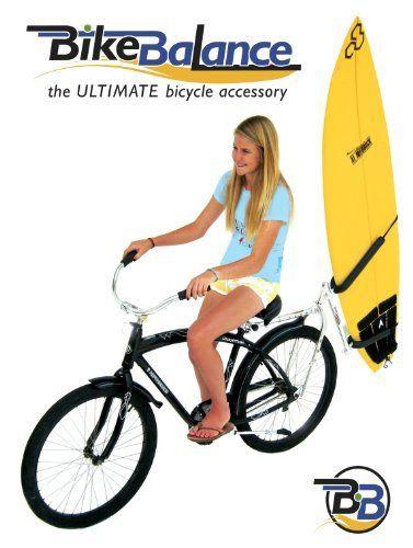 bike balance surfboard rack kit by bike
