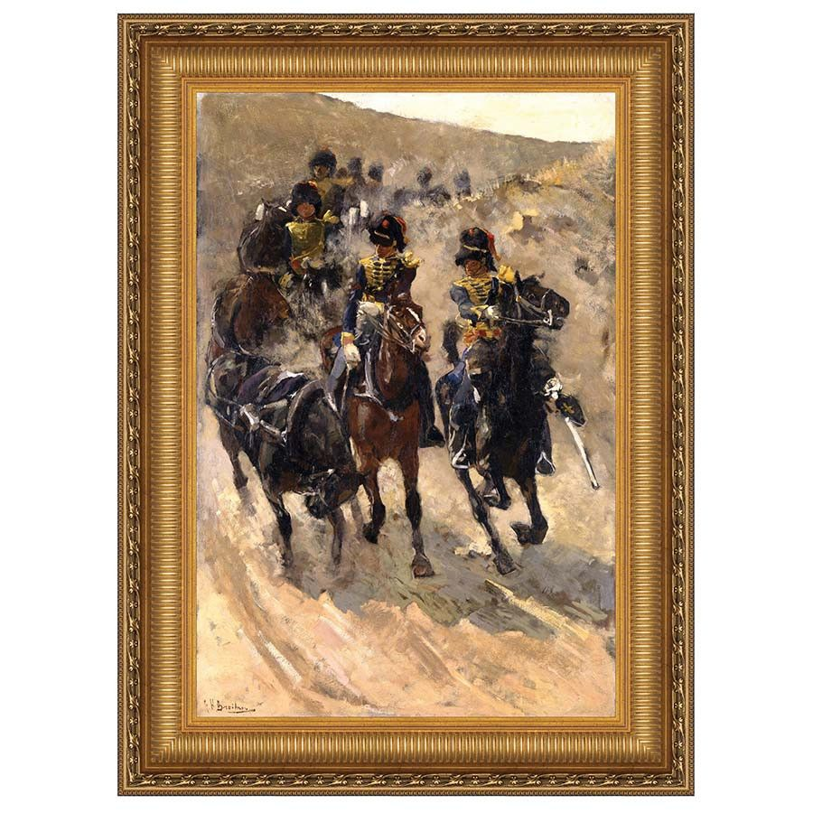 Park Avenue Collection 12X18 The Yellow Riders 1886 Nr