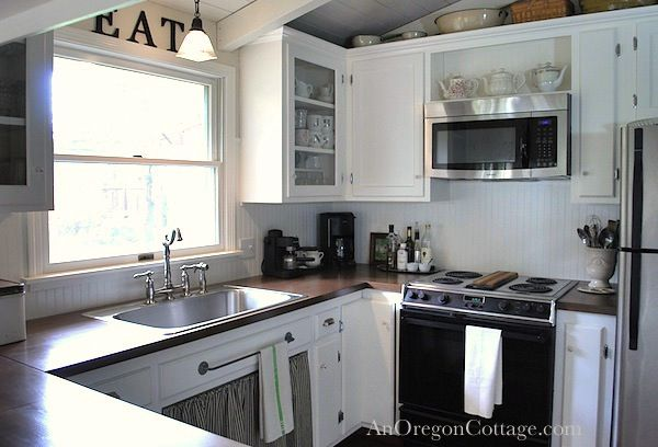 Diy Kitchen Remodel From 80's Ranch To Farmhouse Fresh  Diy Stunning Remodeling Kitchen Inspiration Design
