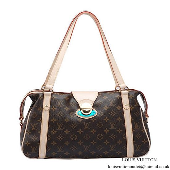 bb625dbb3f Louis Vuitton M51186 Stresa PM Shoulder Bag Monogram Canvas ...