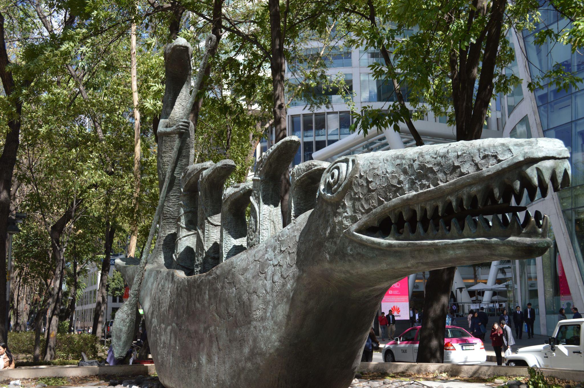 Navegantes. Ciudad de México