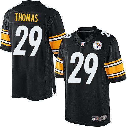Authentic Shamarko Thomas Jersey: Steelers Big & Tall Elite ...