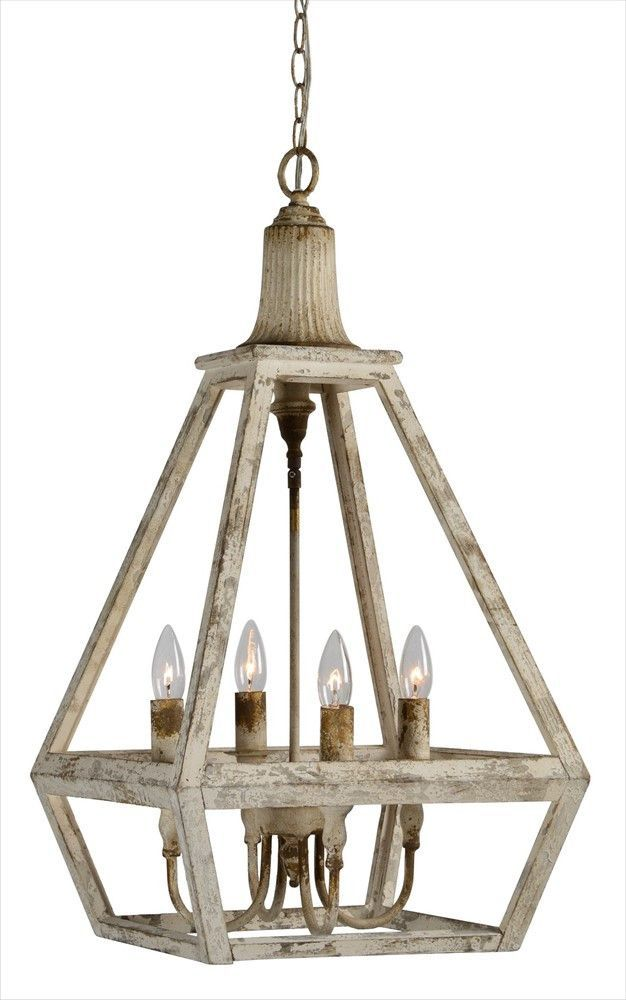 Addison Wood Chandelier