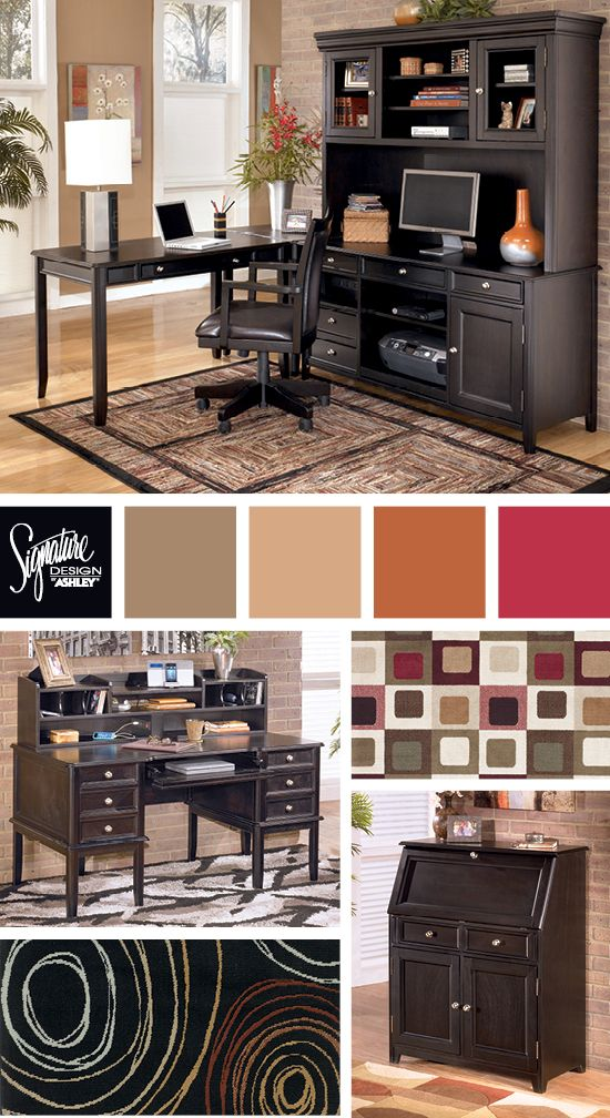 Carlyle Home Office Ashley Furniture Ashley Furniture Home Office Home