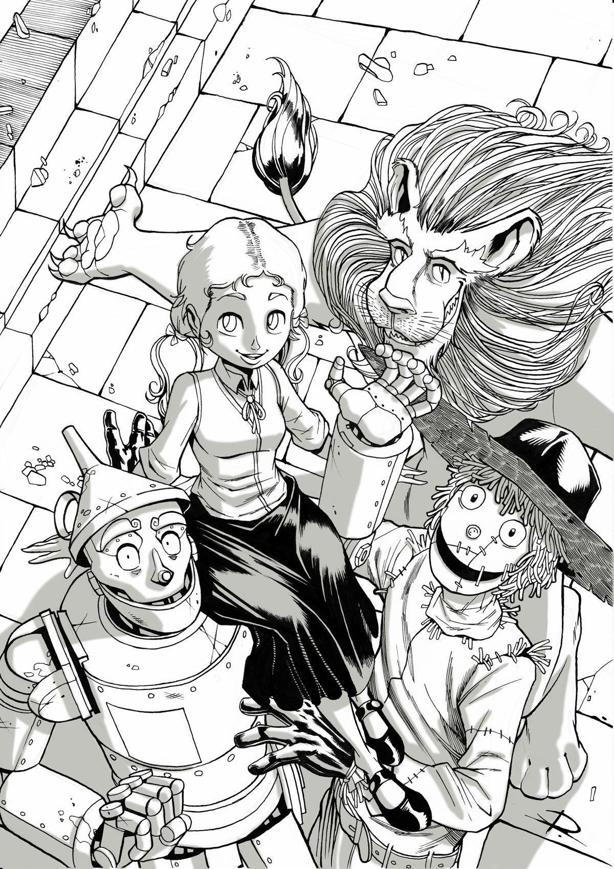 The Wizard Of Oz Ruggine