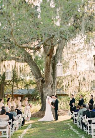 Pretty Florida Ranch Wedding