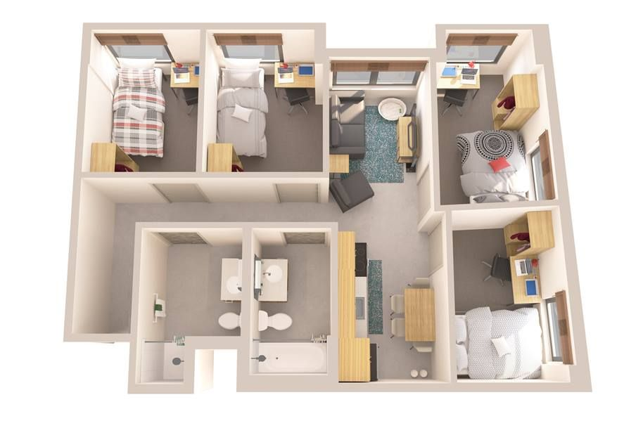 Apartments Near Me 4 Bedroom Housesforsale Apartmentguide Homesforsalenearme Housesforrentnearm Apartment Floor Plans Open Plan Apartment Bedroom Apartment