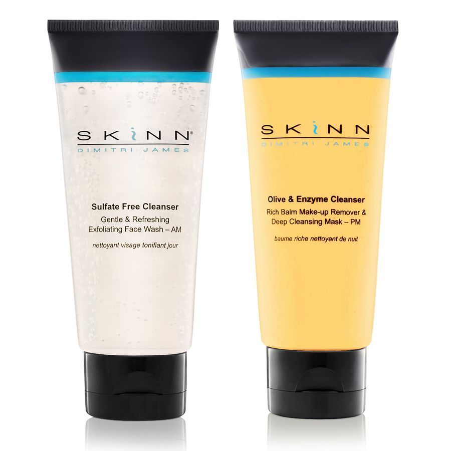 AM & PM Face Washes. Gets Skin