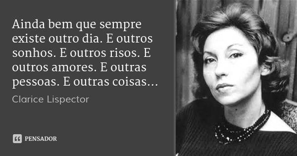 Desconhecido Clarisse Lispector Frases Frases Em Portugues E