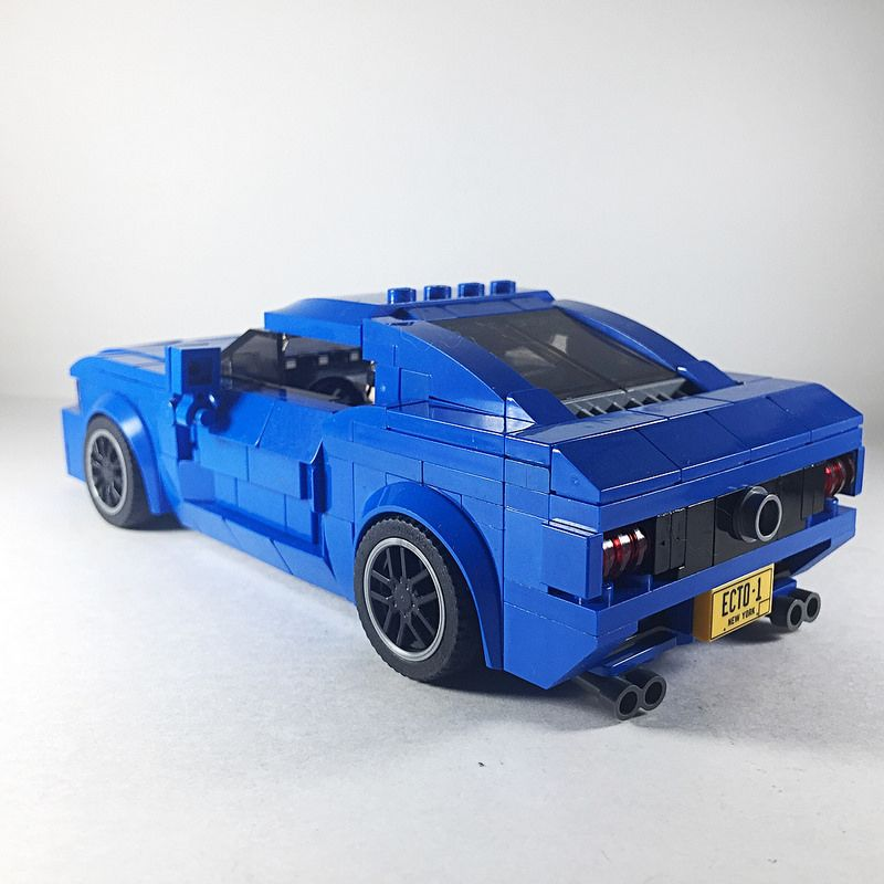First Moc Of 2018 Commissioned 2005 Ford Mustang All Blue