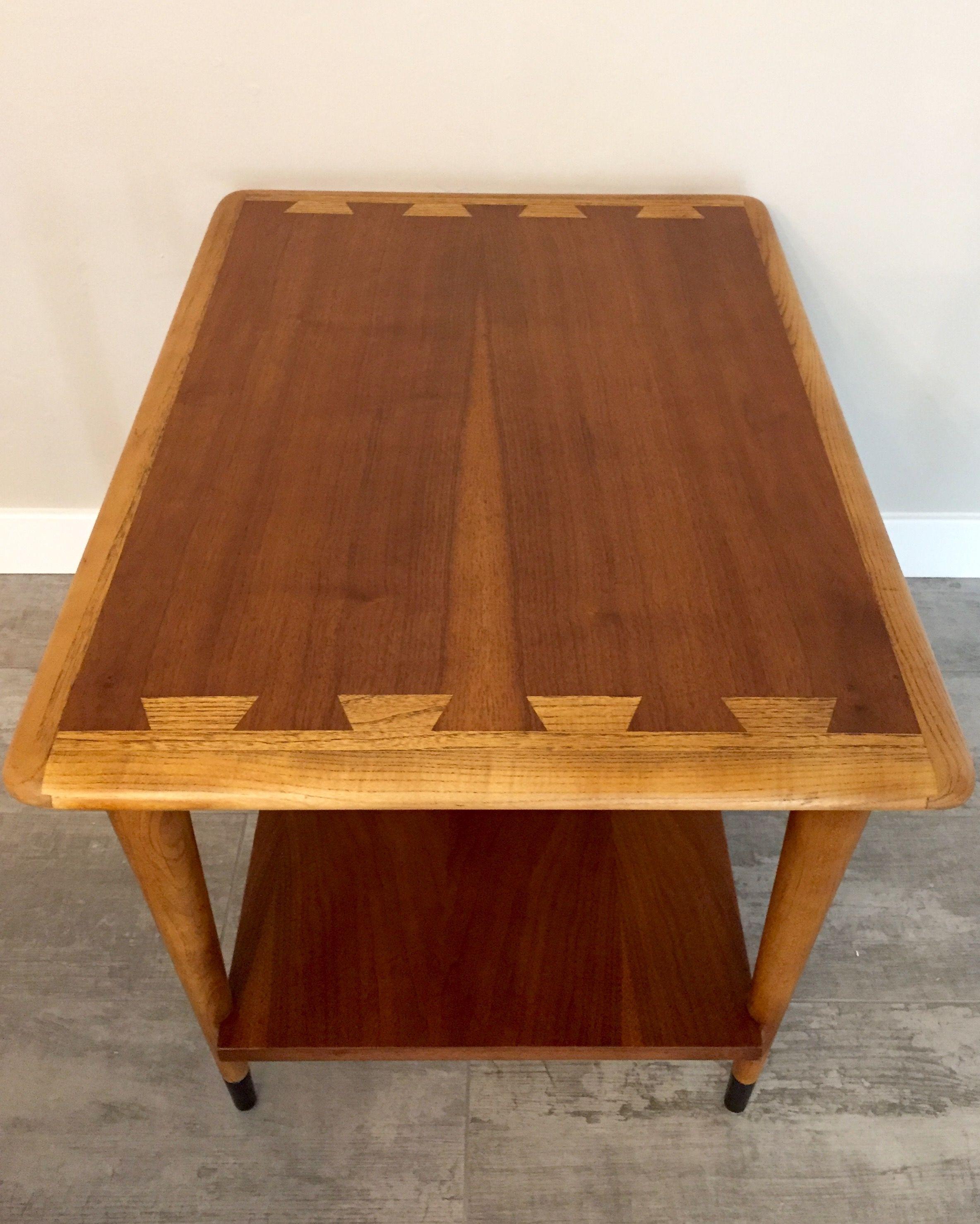 Lane Acclaim Vintage American Mid Century Modern Rectangle End Table