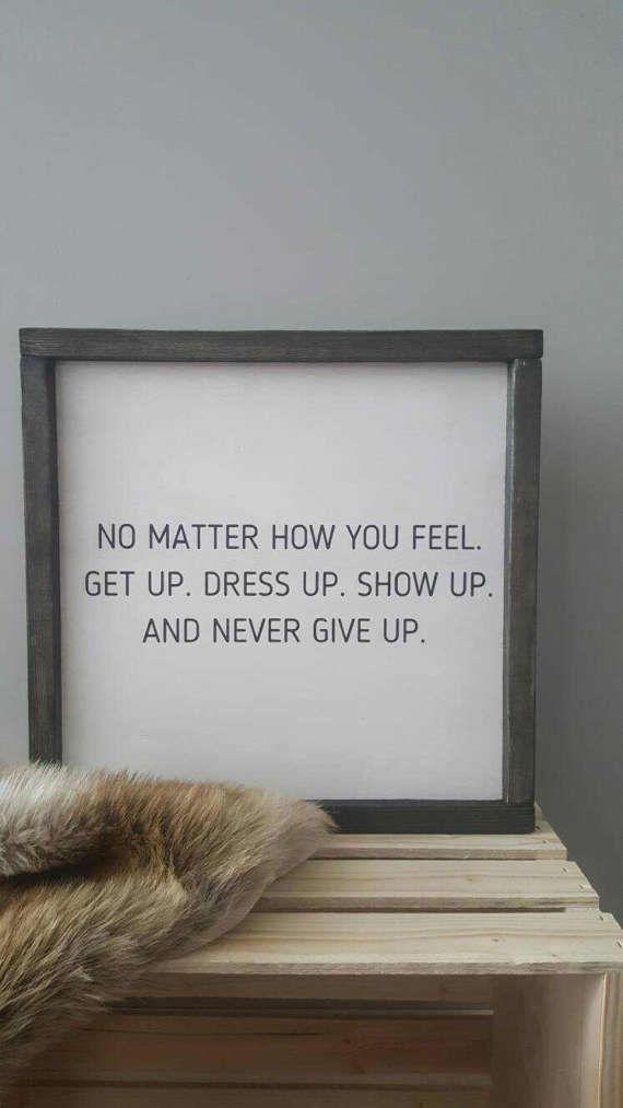 never give up ;) - Huismus | Pinterest - Teksten, Grote kleine en ...