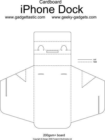 20++ Diy phone stand cardboard template trends