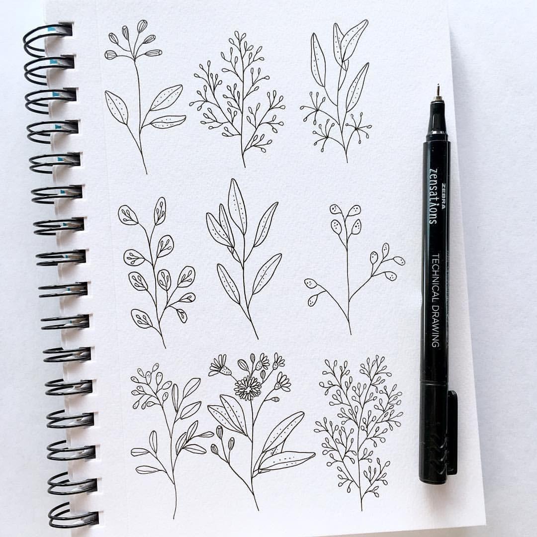 включены картинки идеи для скетчбука черной ручкой легко первых двух