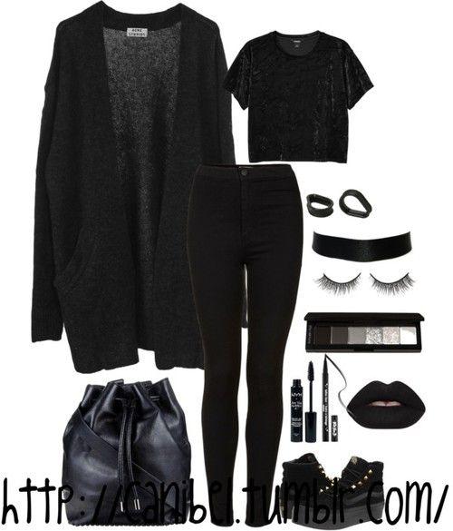 Canibel | Halloween addict! | via Tumblr on We Heart It #emooutfits
