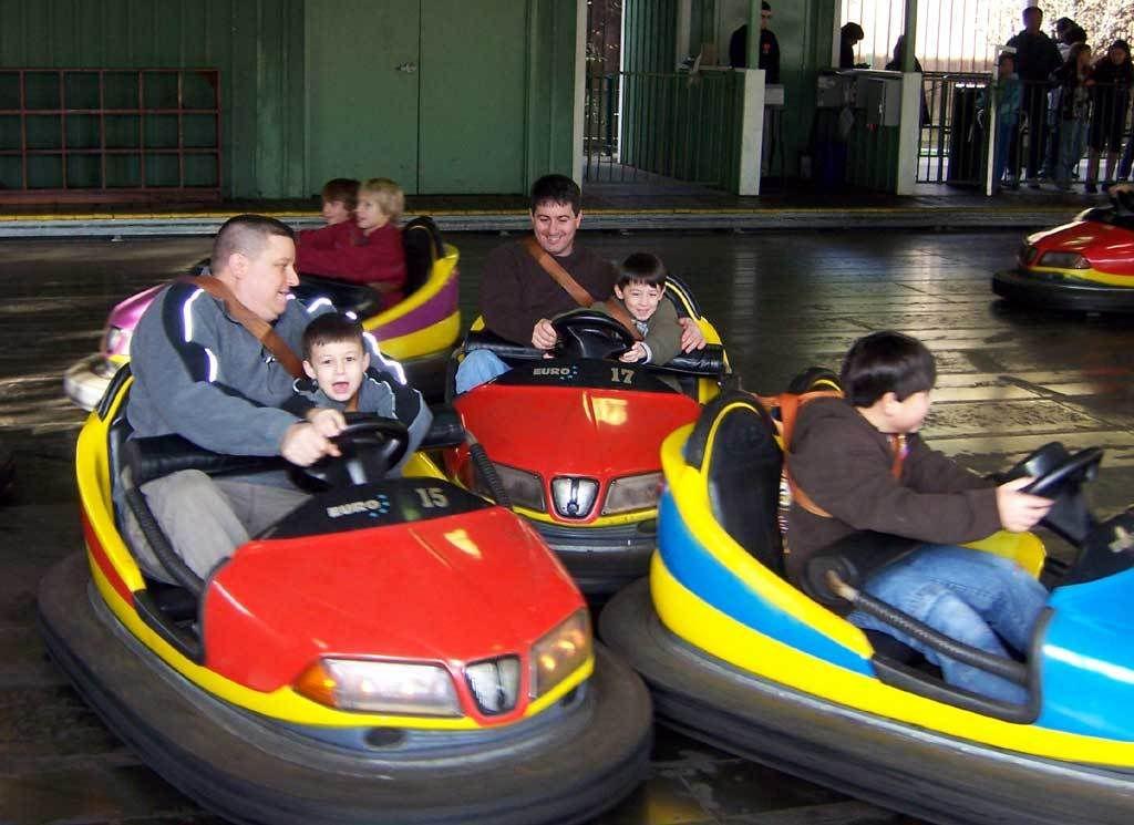 Bumper cars amusement park rides bumpers vehicles