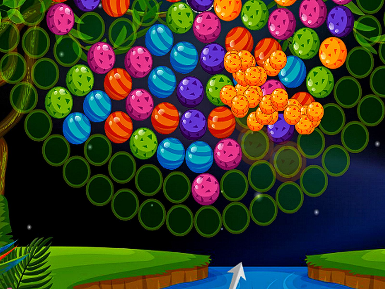 Bubble Shooter Wheel A special bubble shooter game in which you will