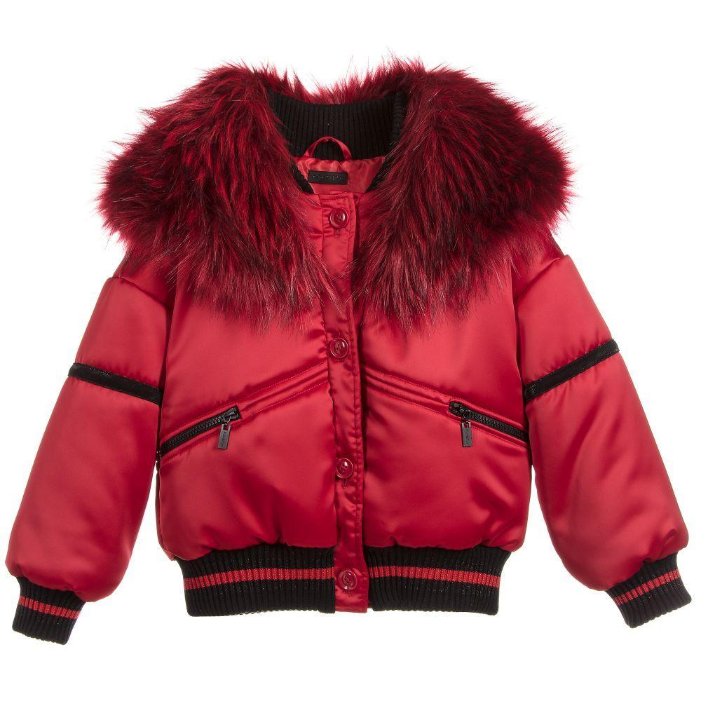 Girls Red Satin Bomber Jacket For Girl By Fun Fun Discover More Beautiful Designer Coats Jackets For Kids O Satin Bomber Jacket Girls Jacket Bomber Jacket [ 1000 x 1000 Pixel ]